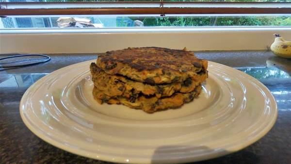 RECIPE: Nourishing Veggie Pattie