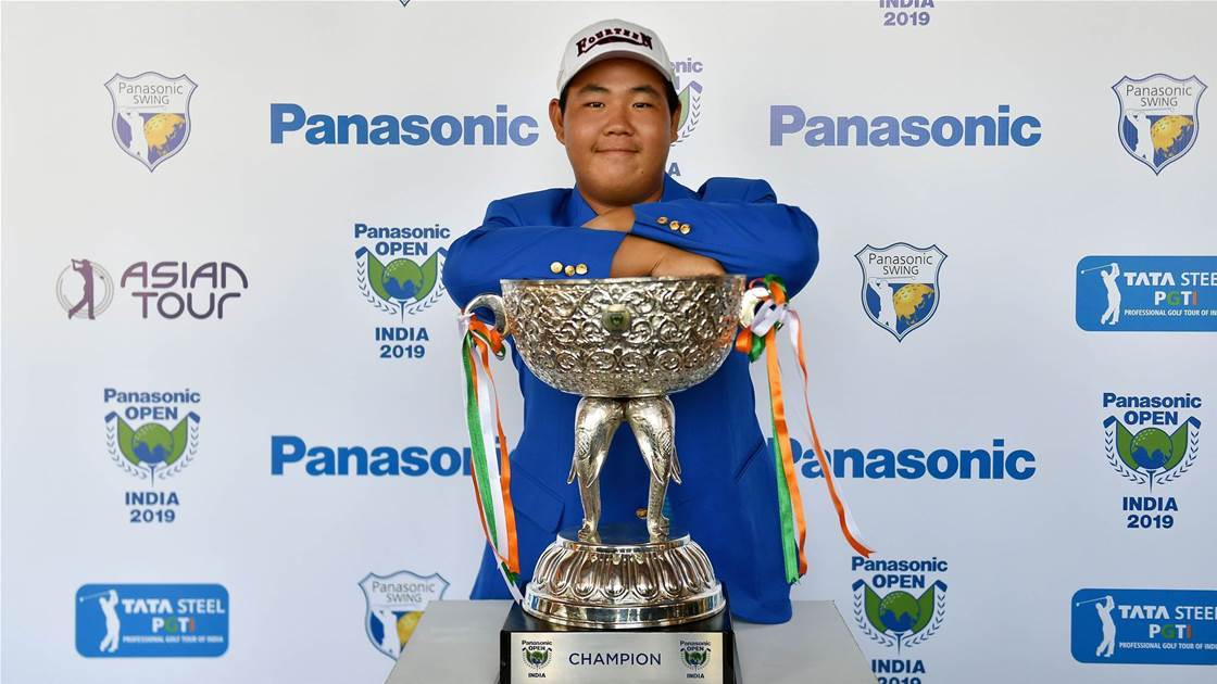Whiz kid Kim wins Panasonic Open India