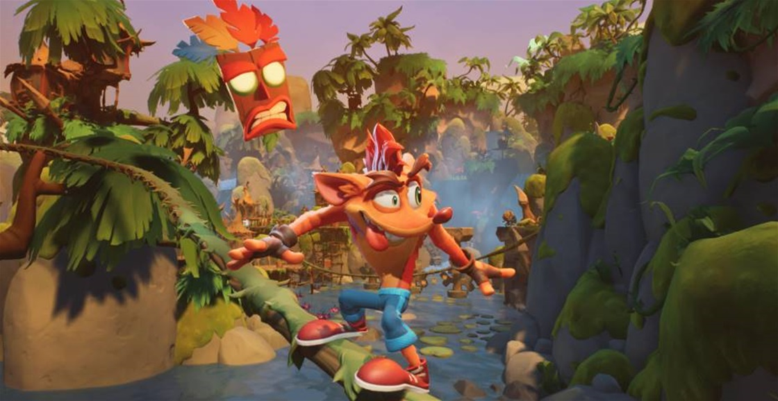 Playing Now: Crash Bandicoot 4: It's About Time