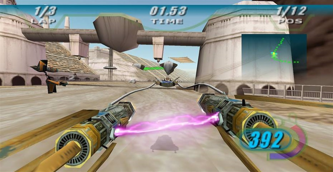 Playing Now: Star Wars Episode I: Racer