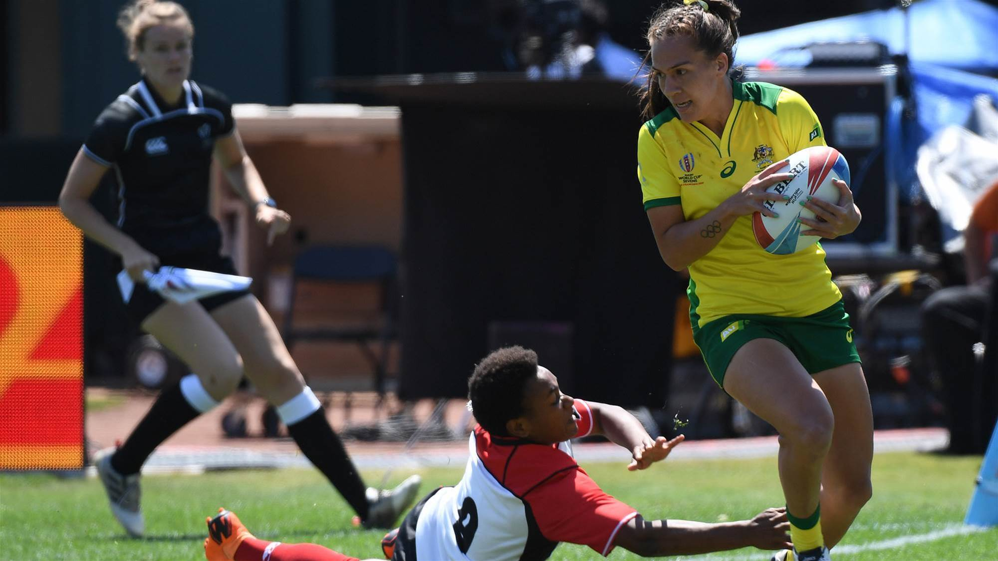 Australian confidence showing in defence at World Cup