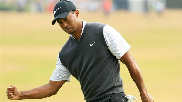 Sizzling 66 puts Woods in Open mix