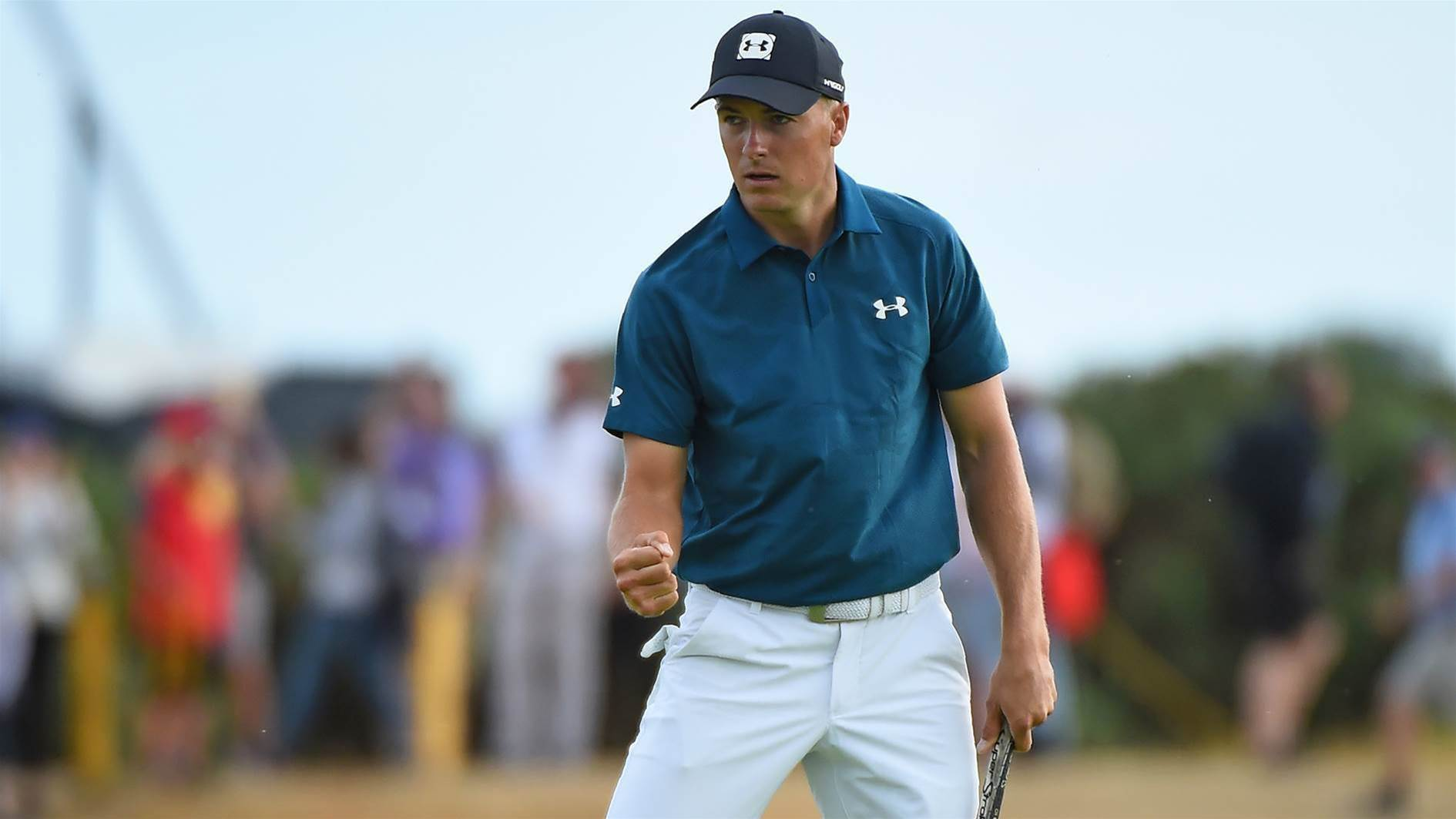 Spieth one step closer to making Open history