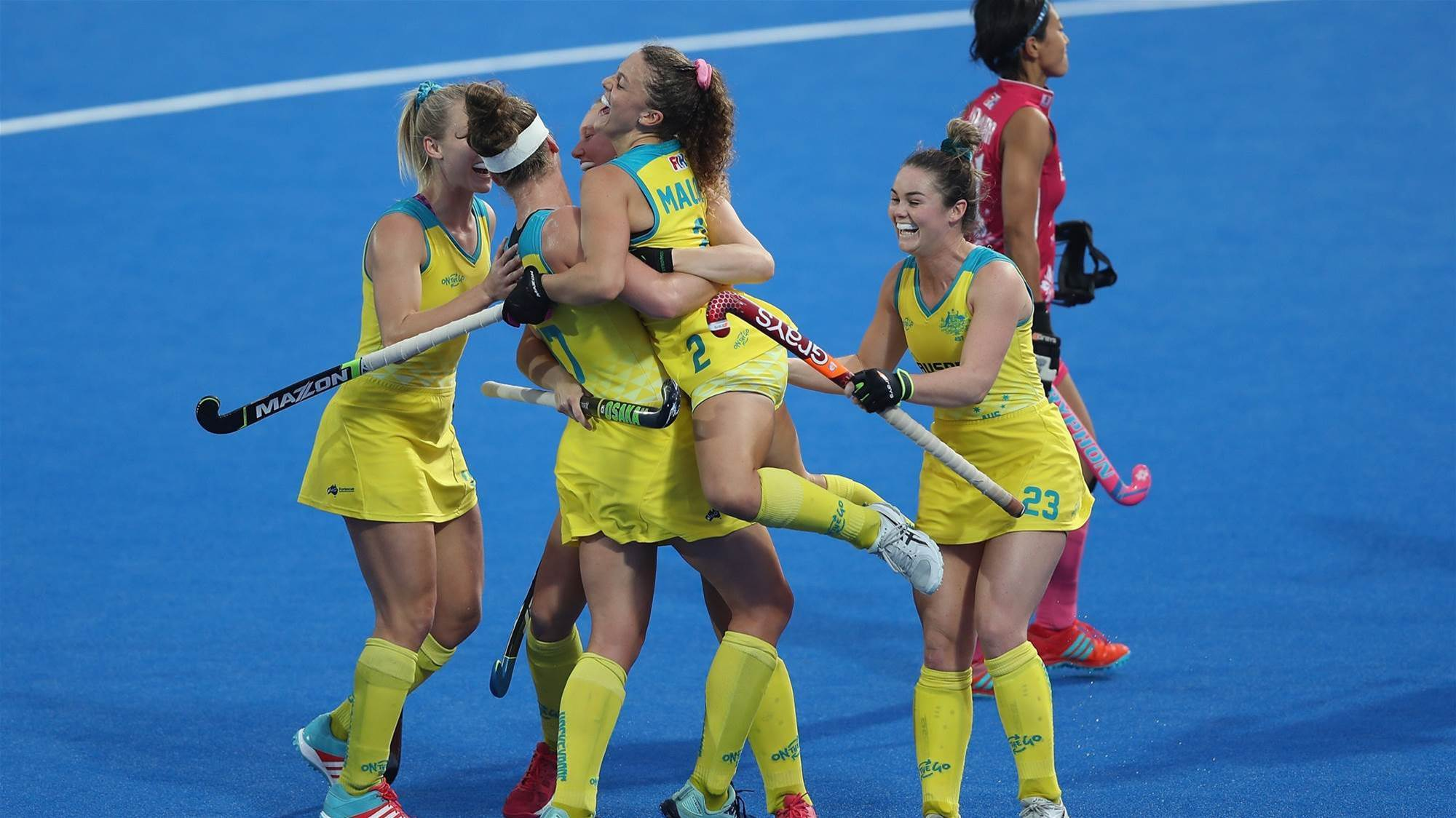 Hockeyroos Win Opening Match