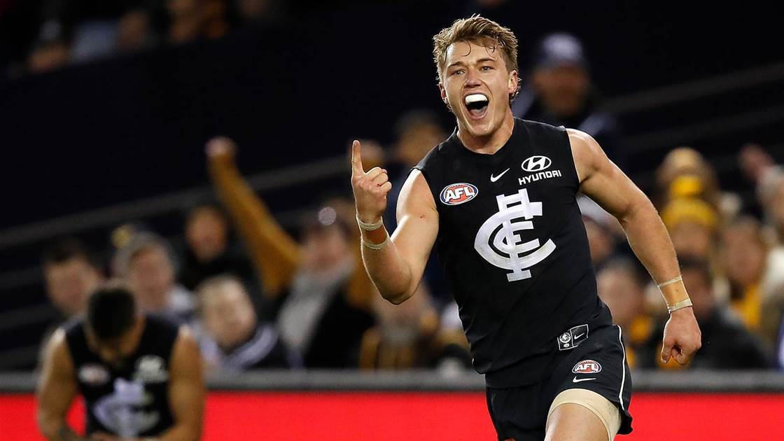 Patrick Cripps decides his Carlton future...