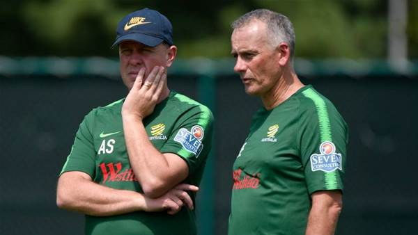 Van Egmond: Players don't get opportunities in Oz academies