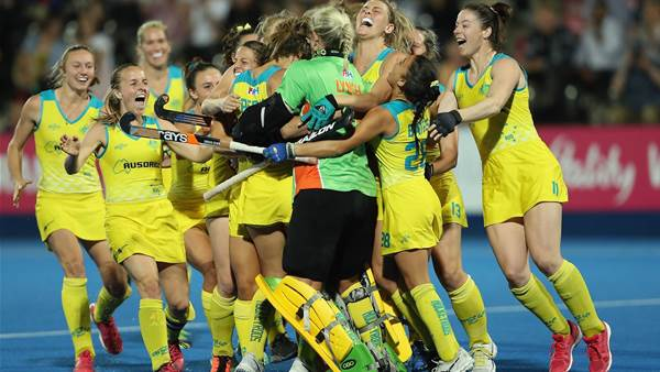 Hockeyroos clinch semi-finals place