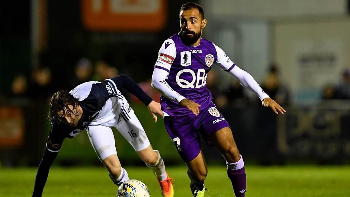 Perth Glory confirms marquee man as skipper