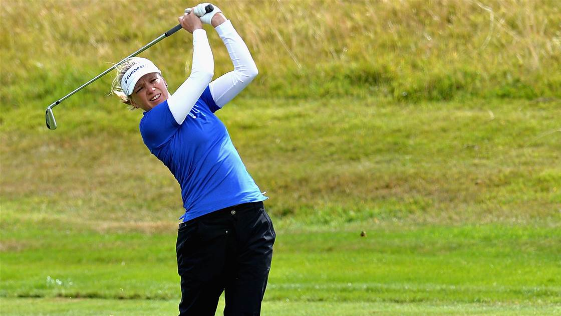 Wikstrom sets early pace at Gant Open