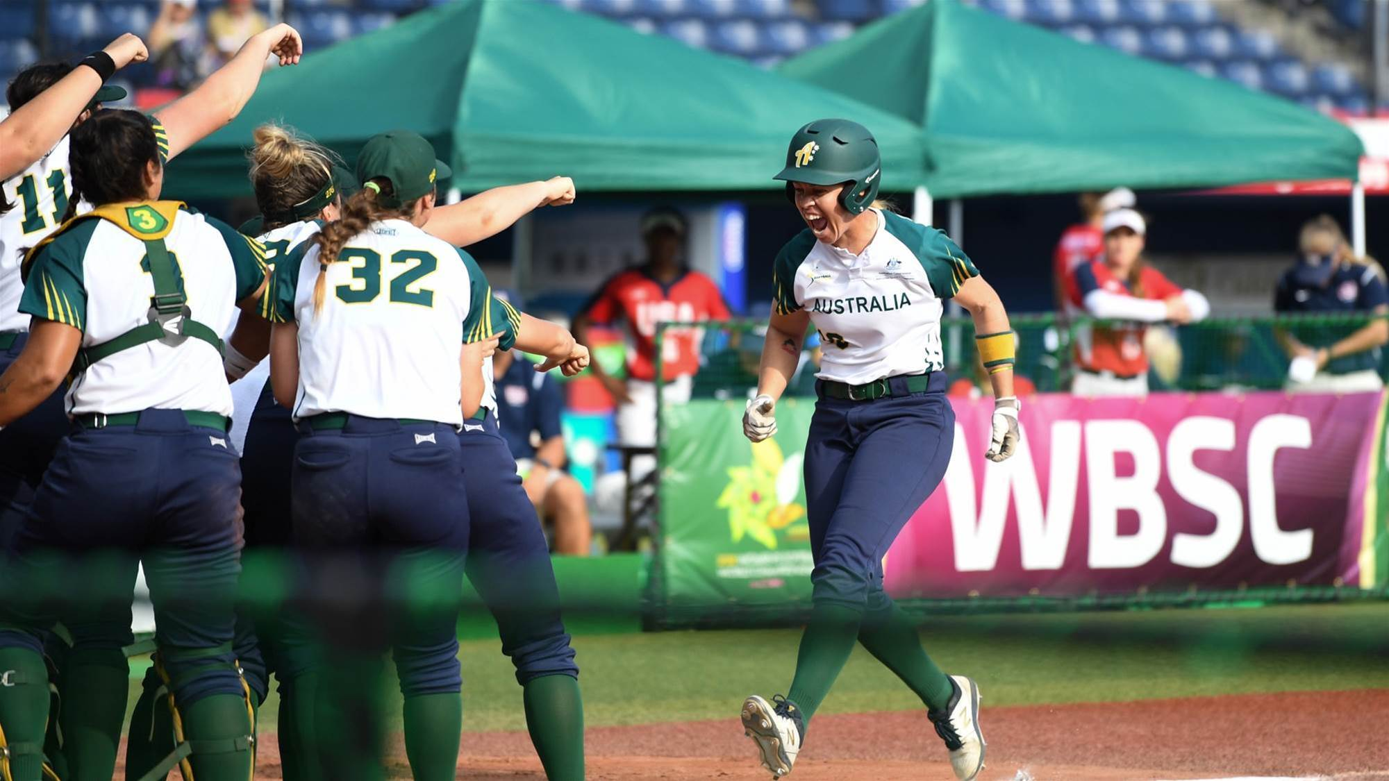 Porter Homers but Spirit Fall to USA