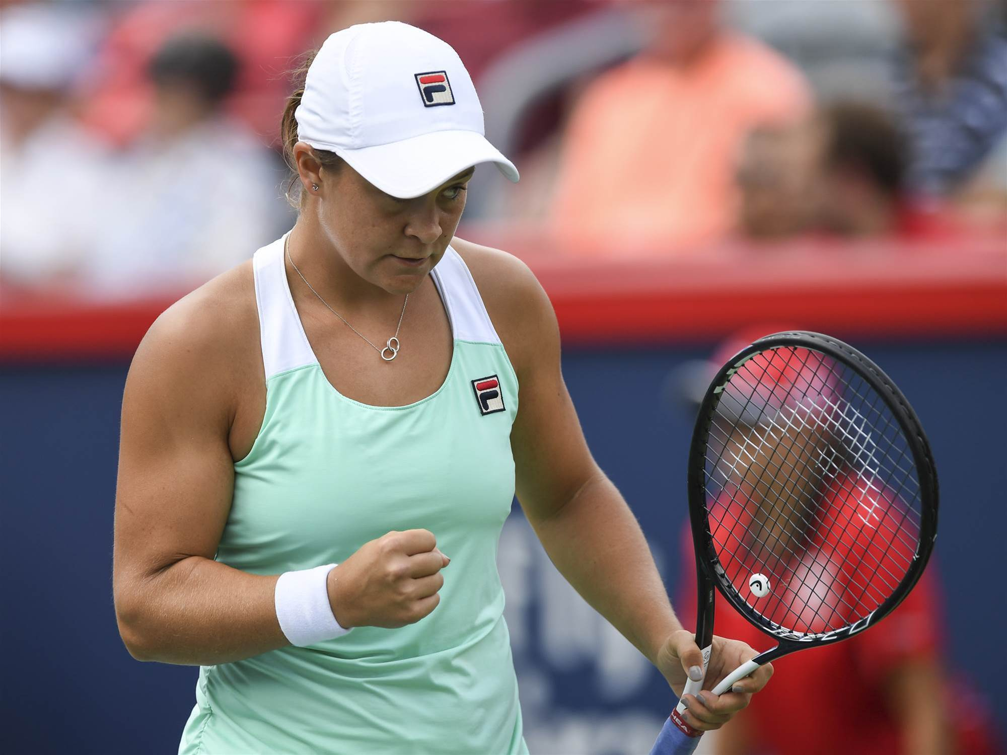 Barty to face world No.1 in Coupe Rogers semis