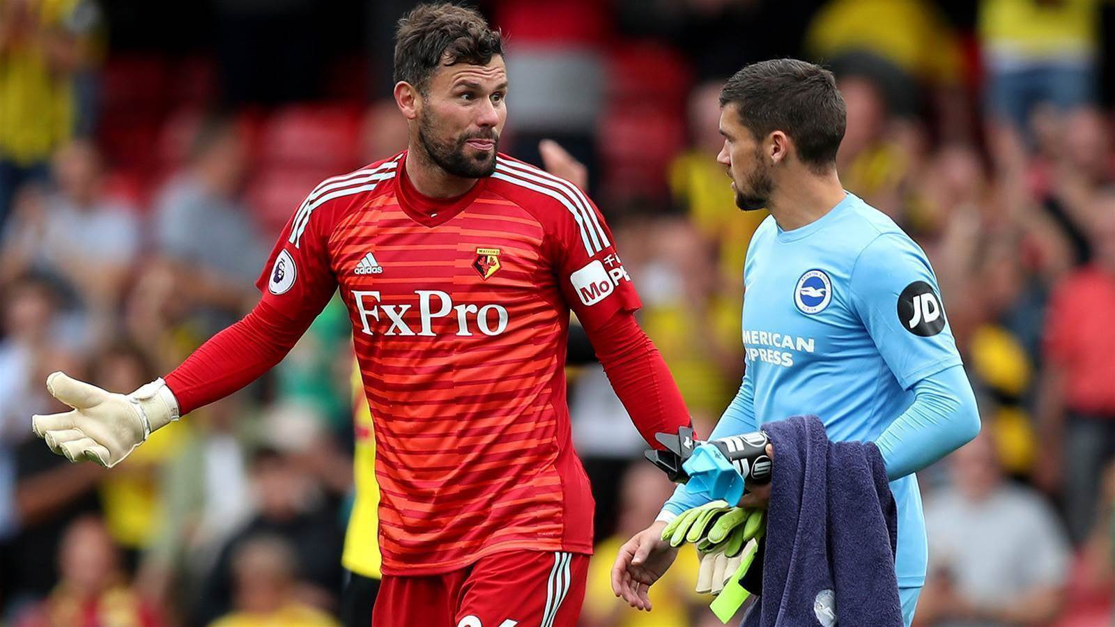 Ryan: English culture likes to be critical of keepers