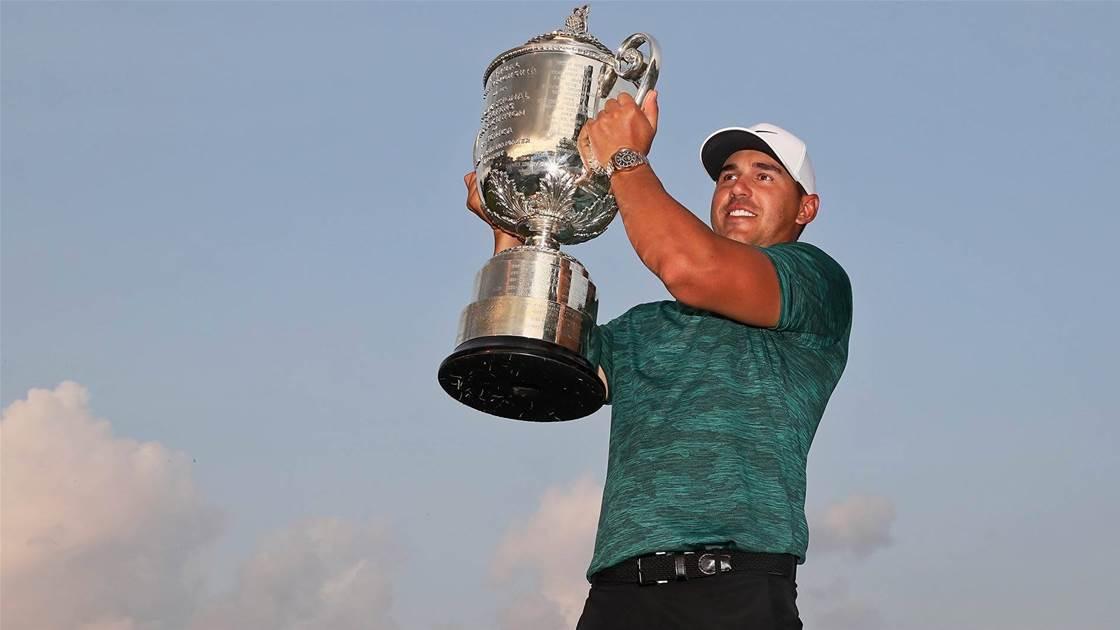 Scott & Tiger fall short of brilliant Koepka at PGA