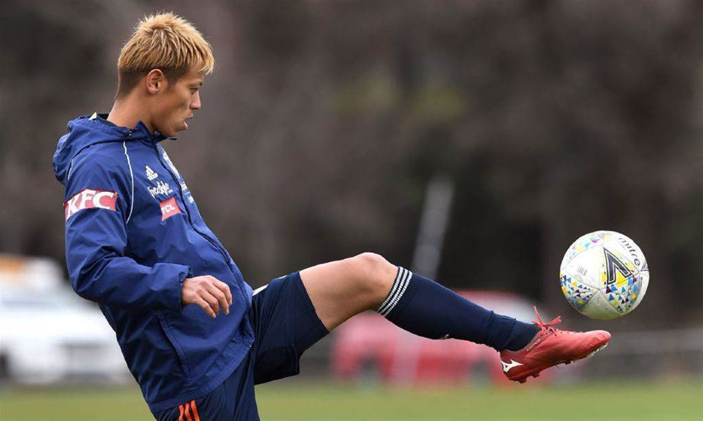 Honda to miss Melbourne Victory FFA Cup clash