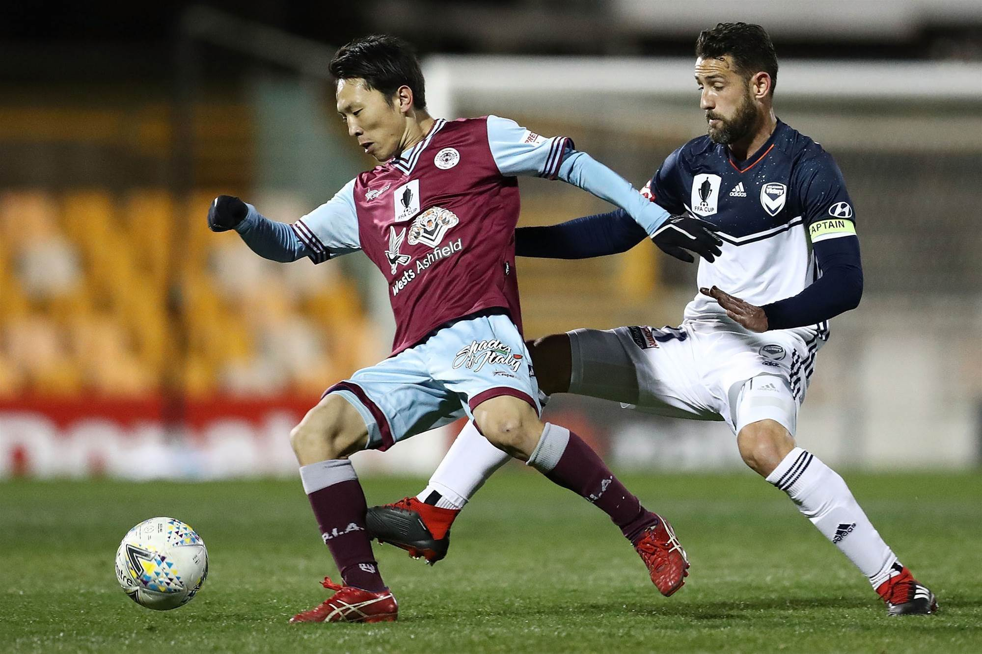 Cupset! APIA fell Melbourne Victory