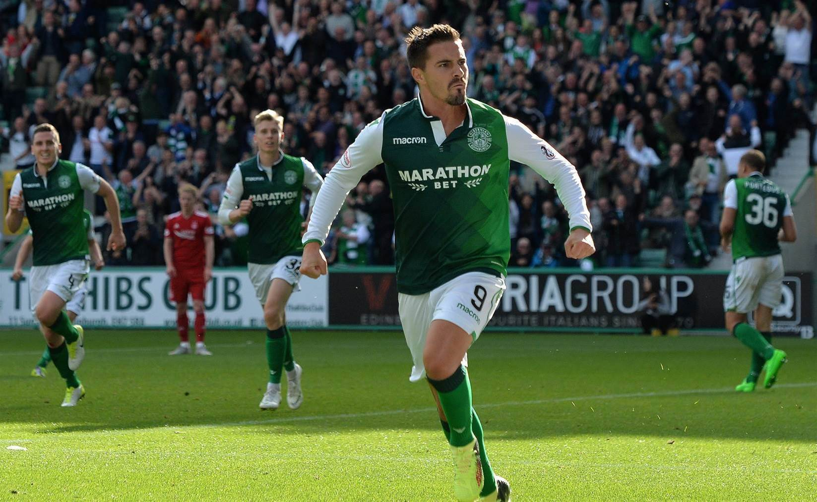 WATCH: Maclaren scores Hibs equaliser