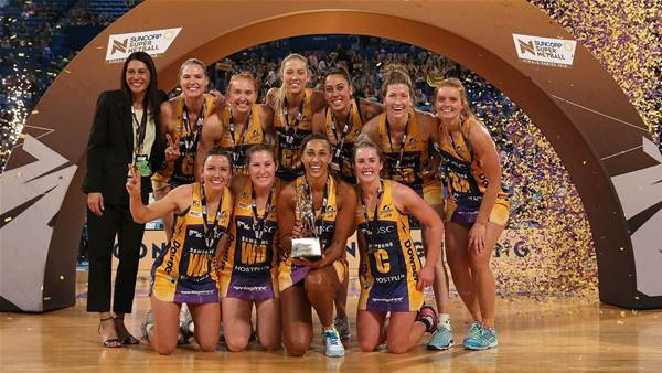 Lightning take back-to-back Premierships