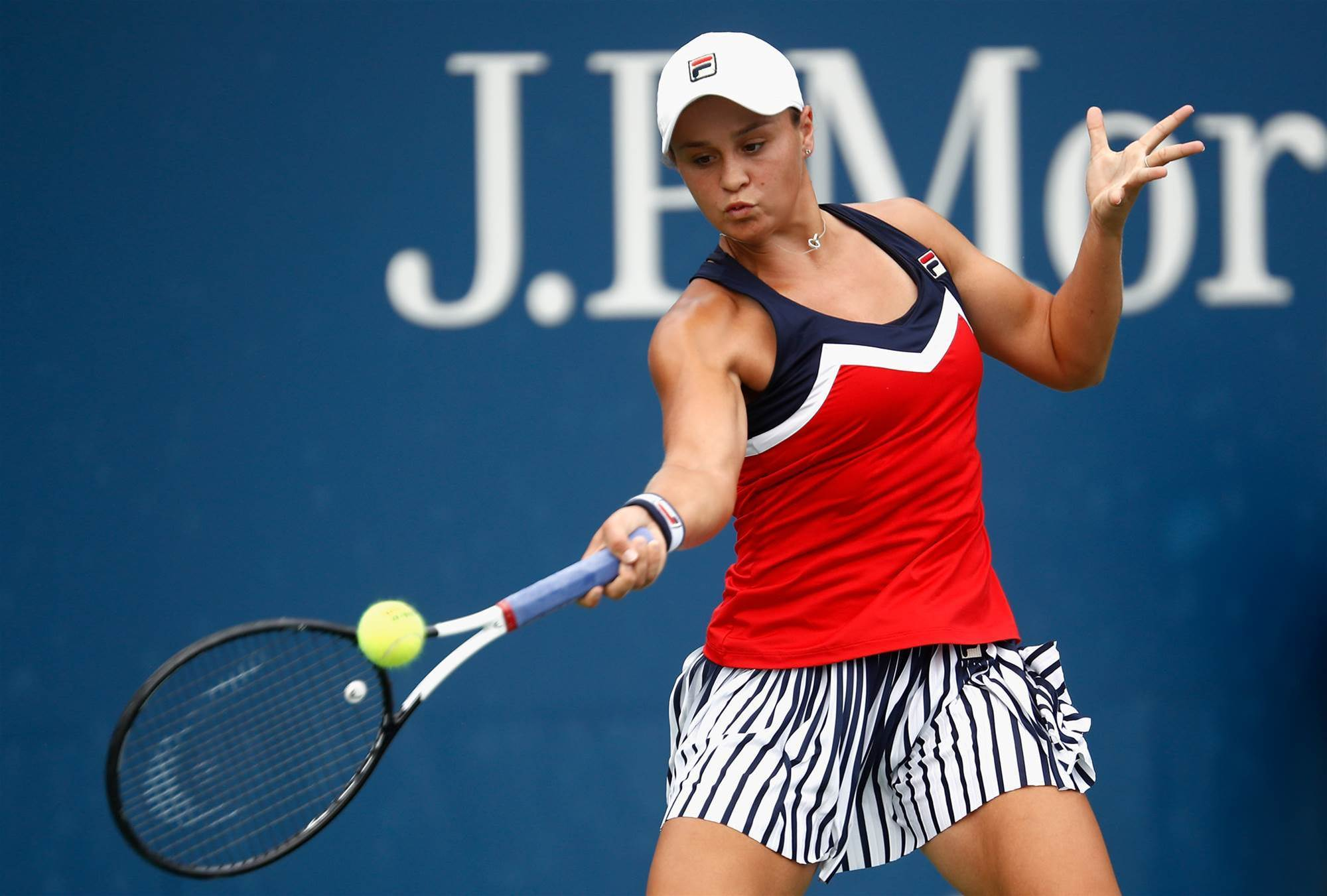 Barty's US Open singles campaign ends