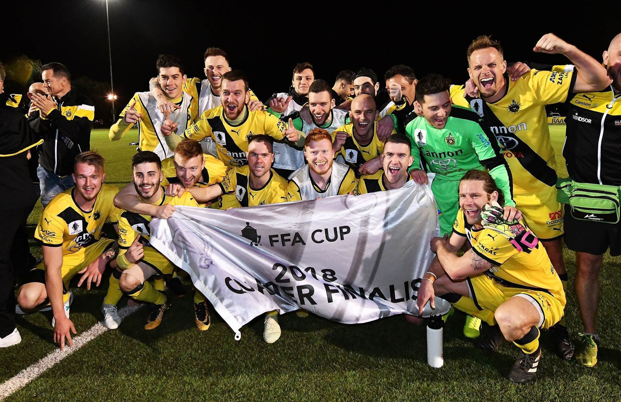 FFA Cup wrap: Heidelberg reach quarters again, Jets shot down