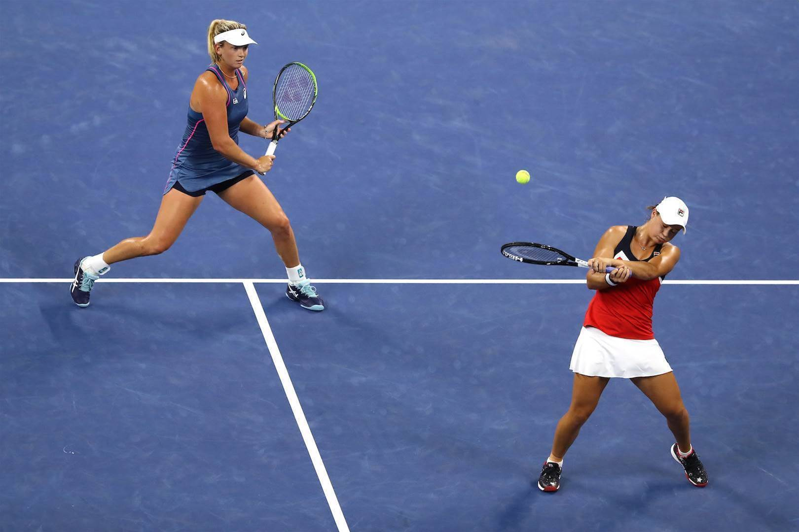 Barty through to US Open doubles final