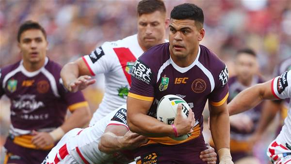 David Fifita ruled out indefinitely