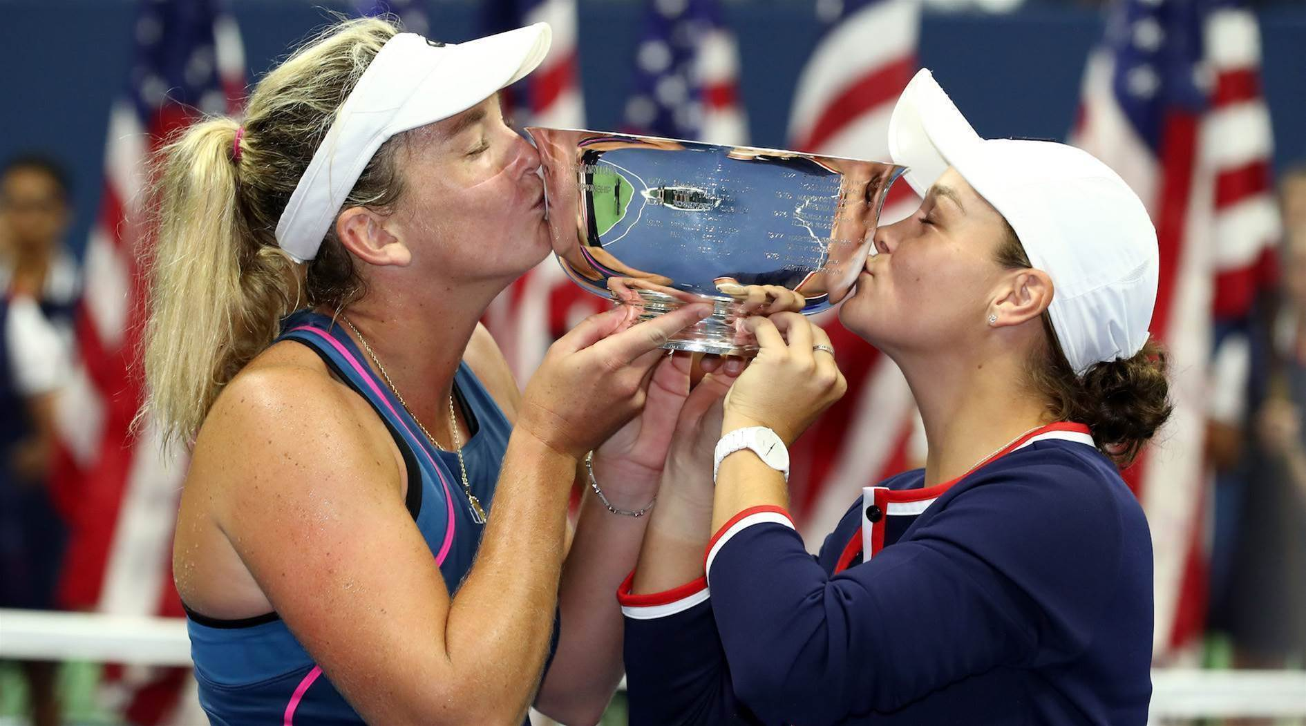 Barty and Vandeweghe crowned women's doubles champions