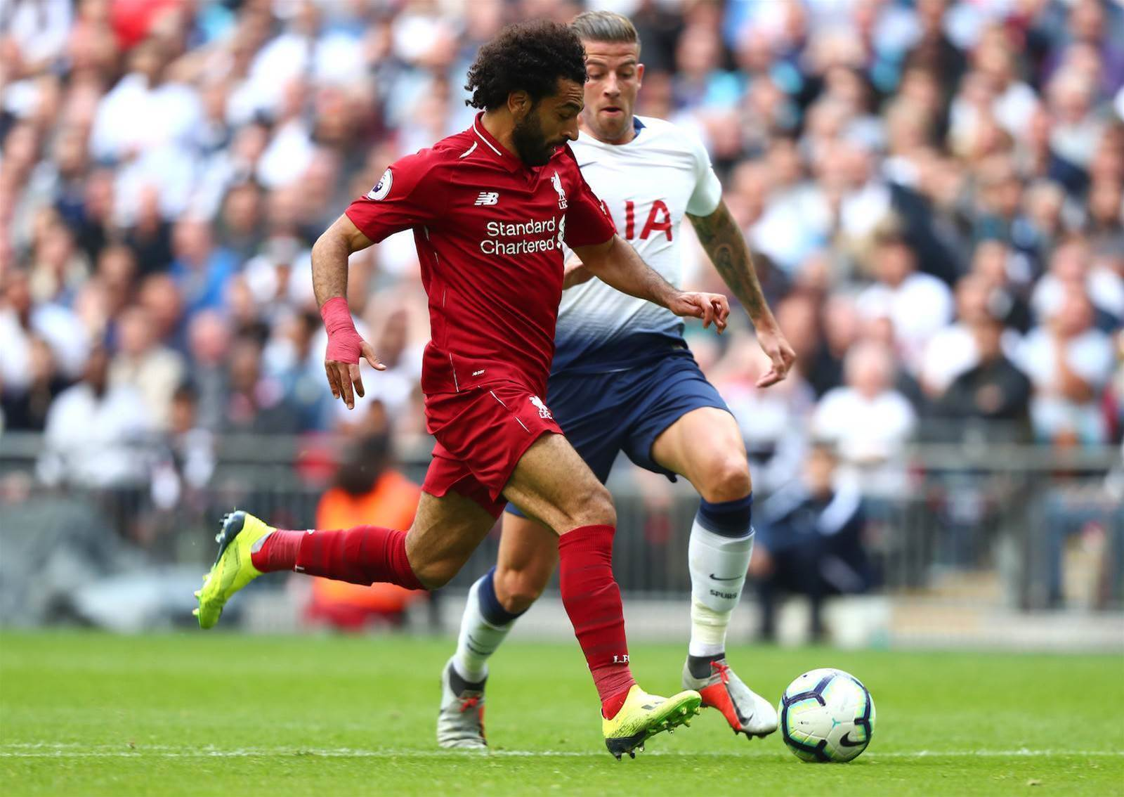 What's wrong with this picture from Spurs v Liverpool ...and how did it happen?