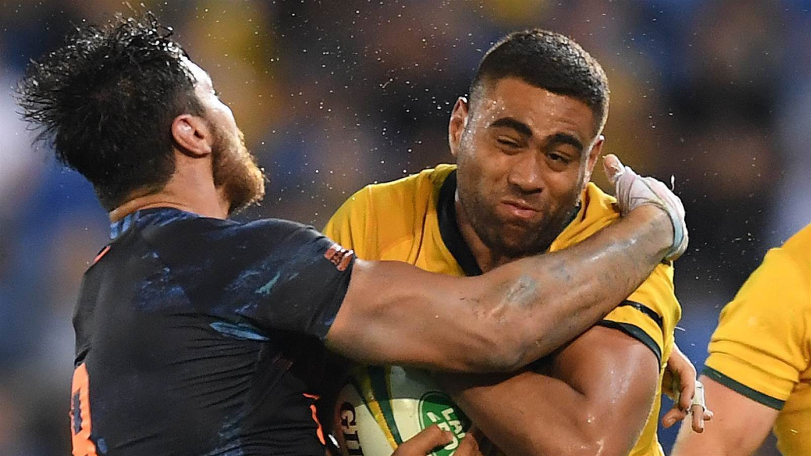Tui cleared over blow up with Wallabies fan