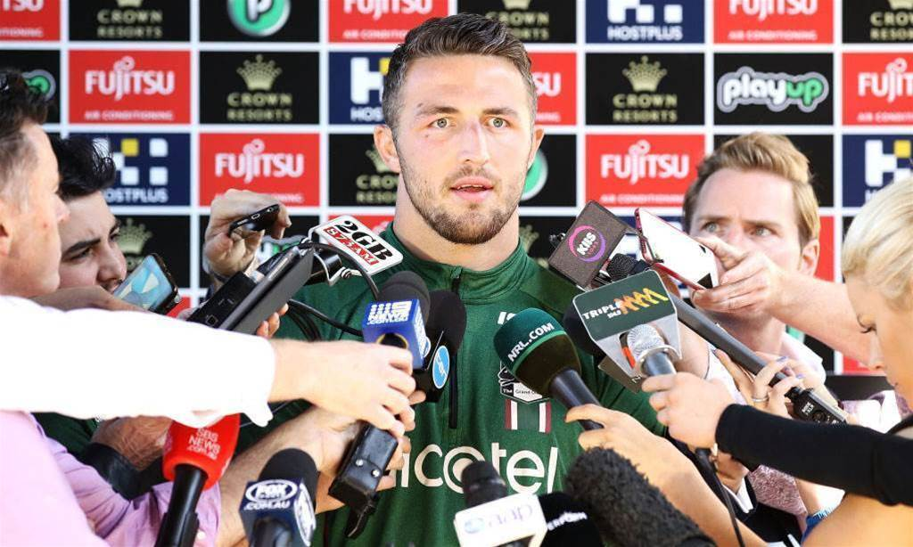 Sam Burgess calls for truth in sexting drama