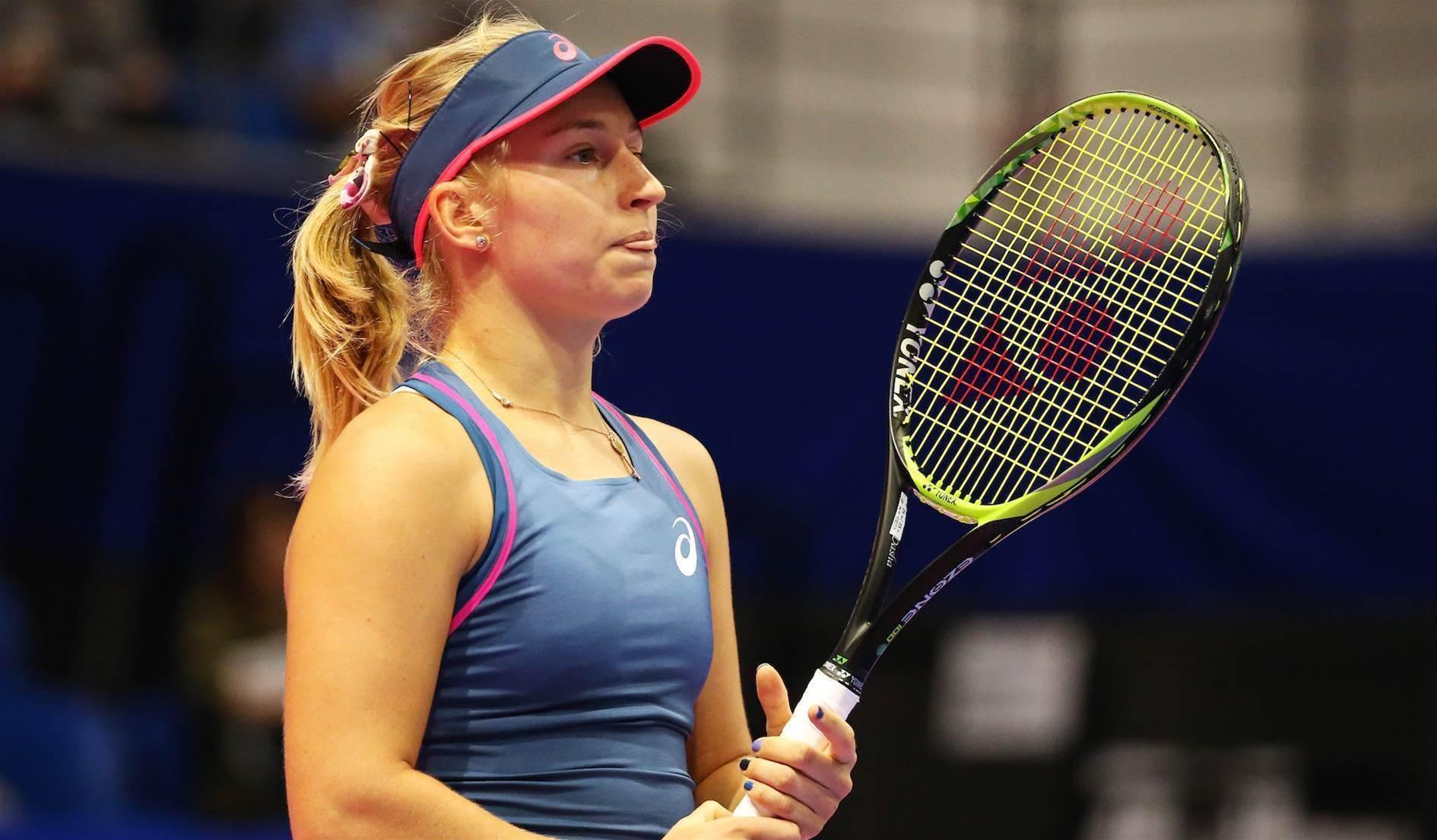 Gavrilova Tokyo hopes dashed, Tomljanovic through in Korea