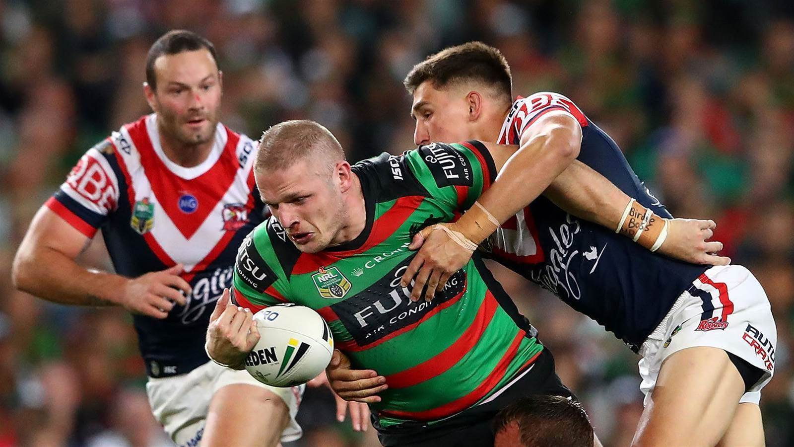 Burgess cited for eye gouge