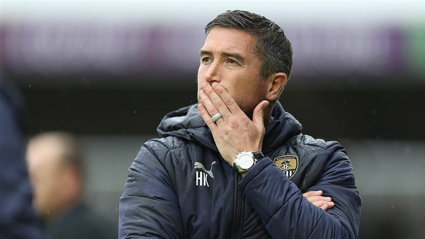 Morecambe manager slams Kewell sacking