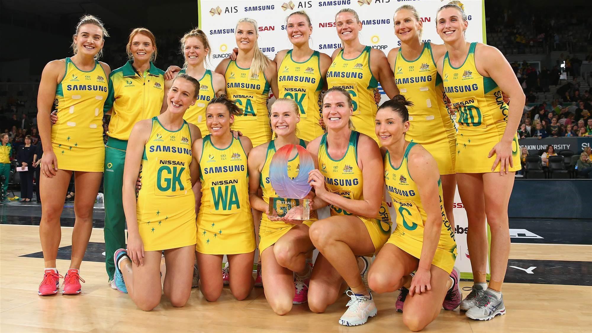 Diamonds crowned Quad Series champions