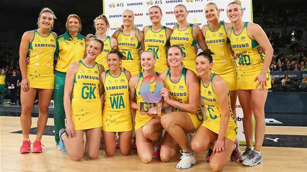 Diamonds crowned Quad Series champions