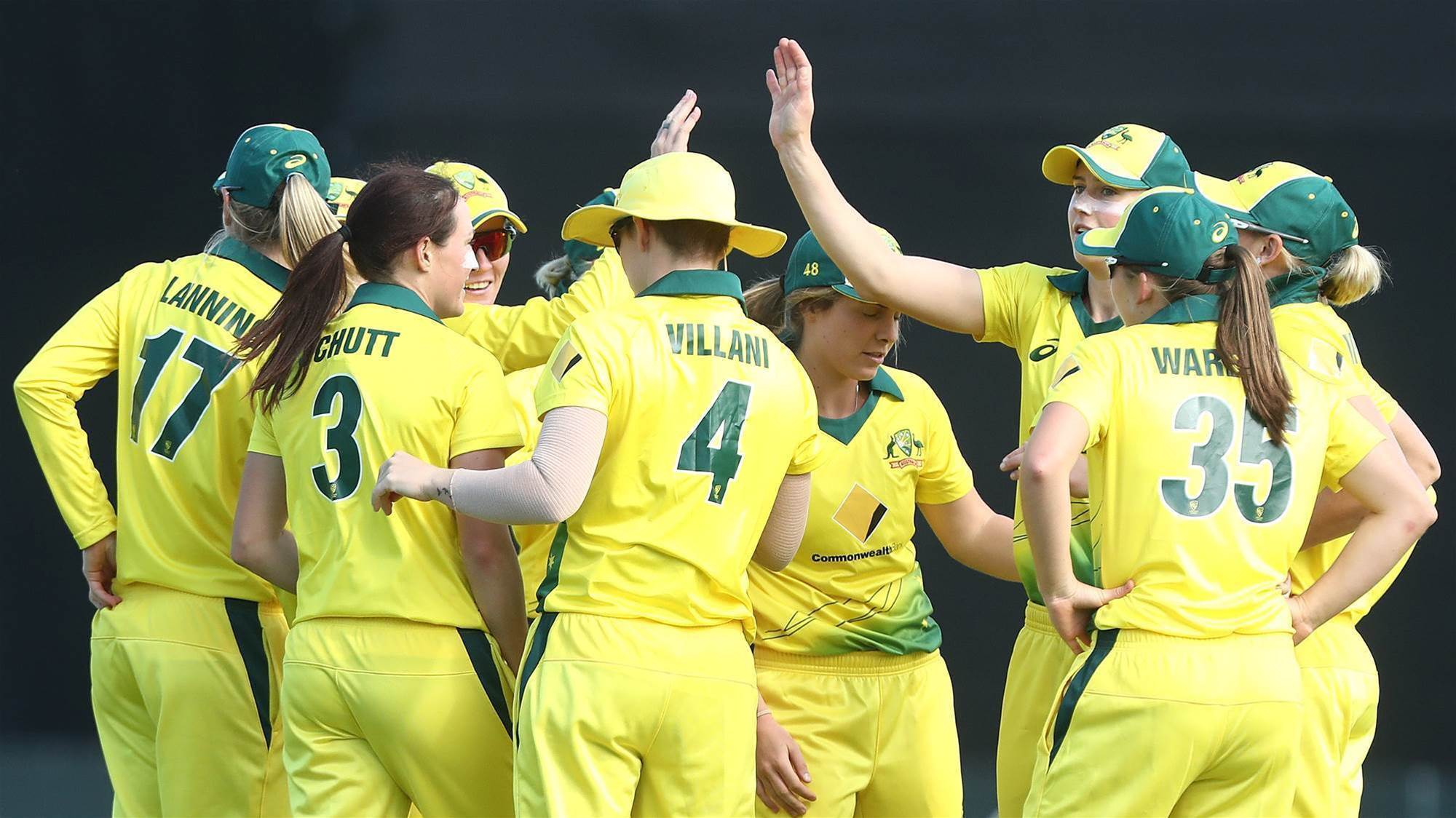 Meet the team: Australian World T20