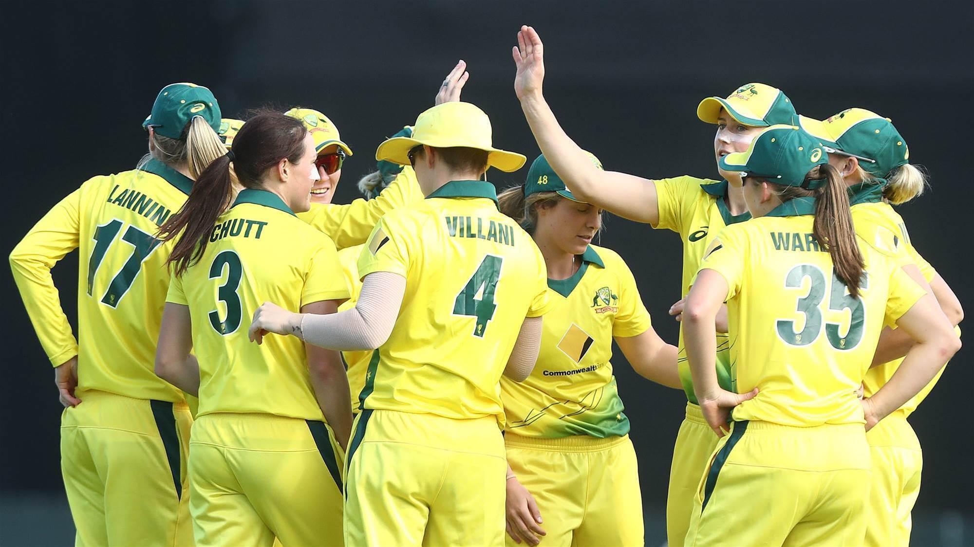 Meet the team: Australian World T20