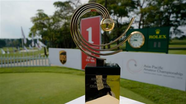 Asia-Pacific Amateur Championships cancelled