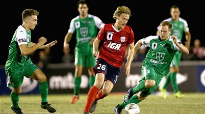Halloran marks return with FFA Cup goal