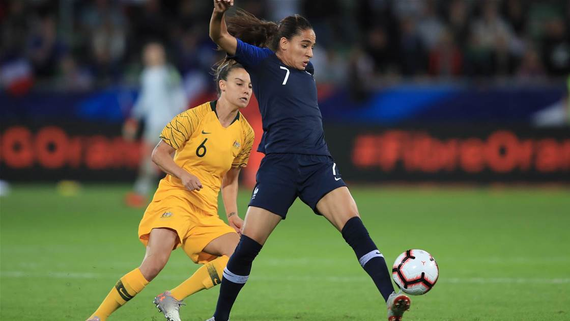 France proved too strong for Matildas