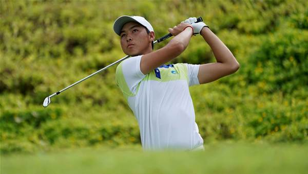 Min Woo Lee dashes home for World Super 6 Perth