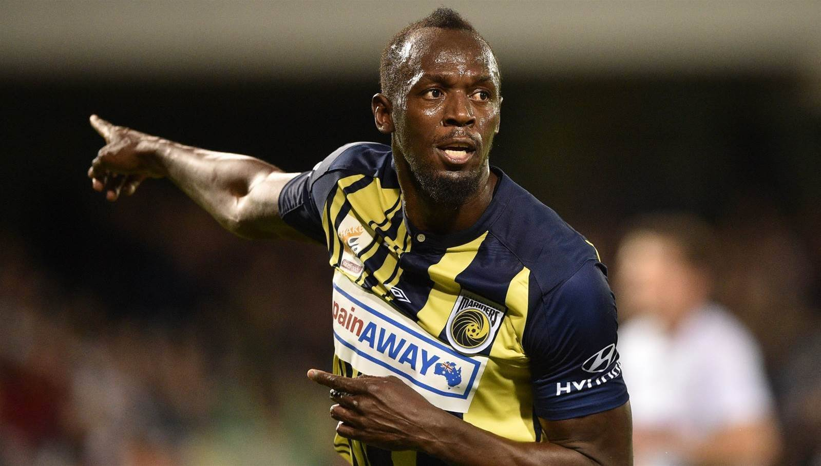 Central Coast Mariners to weigh up permanent Usain Bolt deal