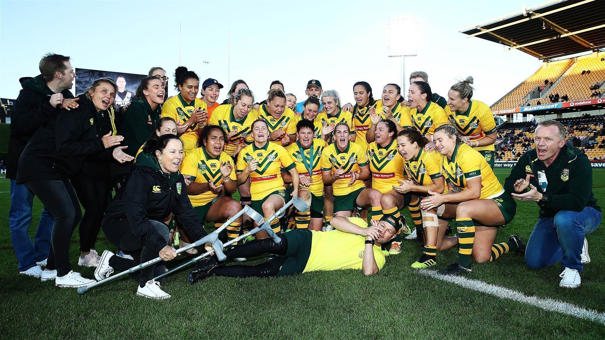Jillaroos farewell Ballinger with win