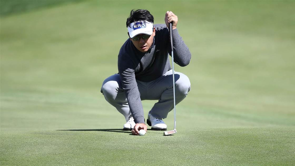 Park lines up Maekyung Open hat-trick
