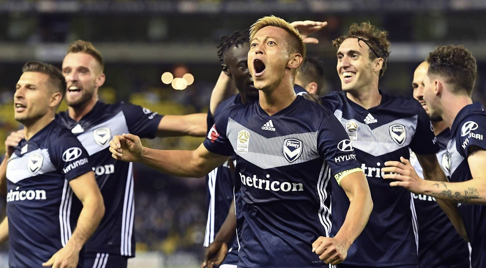 WATCH: Honda scores on Victory debut
