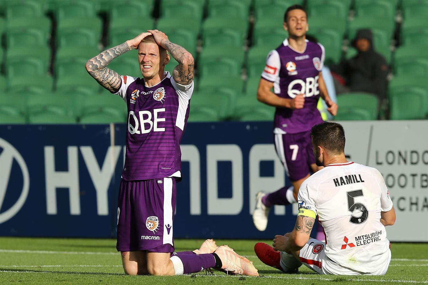 Perth Glory v Western Sydney Wanderers Player Ratings