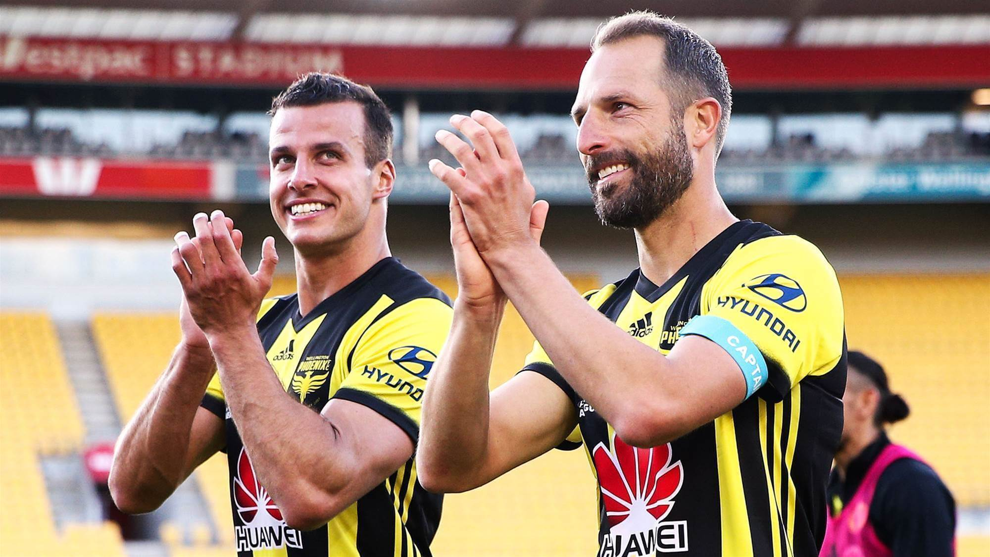Wellington Phoenix's milestone men out to 'make history'