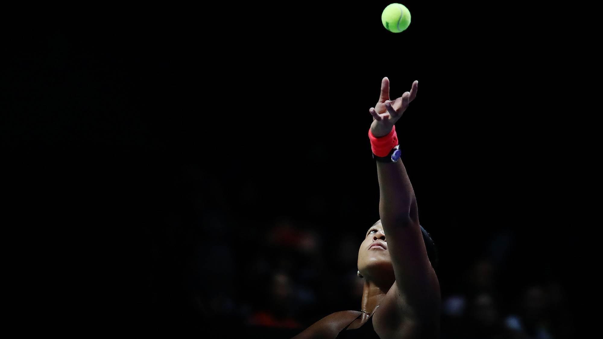 Koalas, snakes and tennis with Naomi Osaka