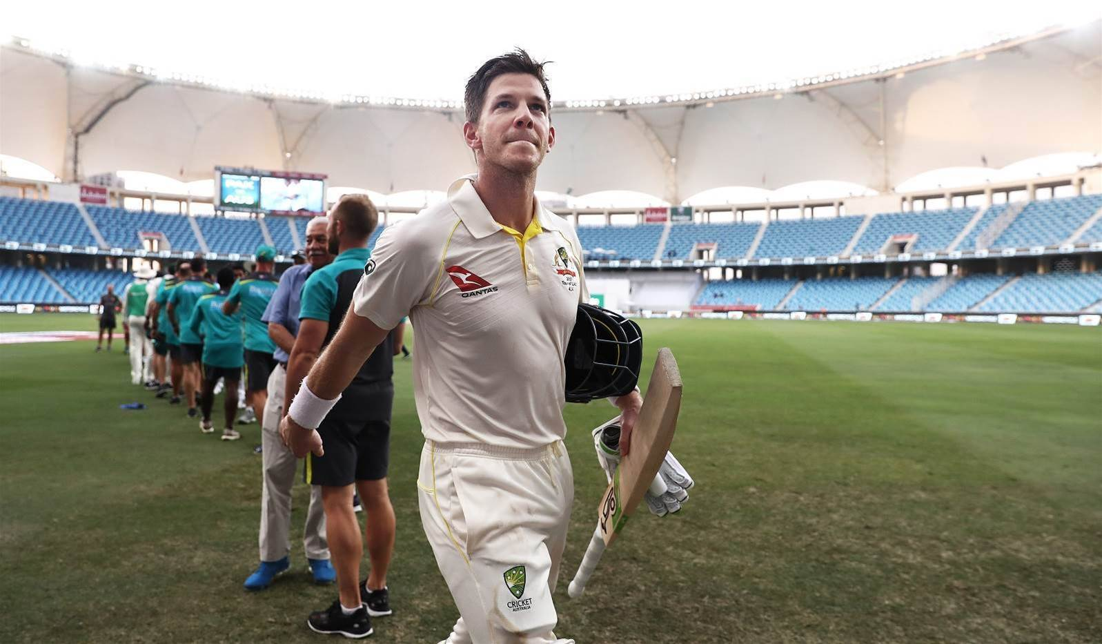 Aussies hold on for heroic Dubai Test draw