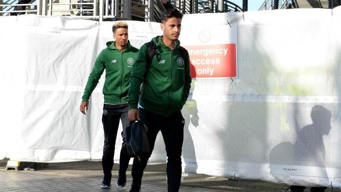 Arzani wows Manchester coaches before Celtic return