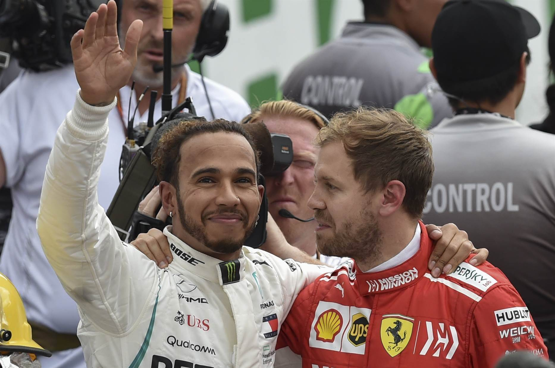 Hamilton clinches fifth world crown after 'horrible' race